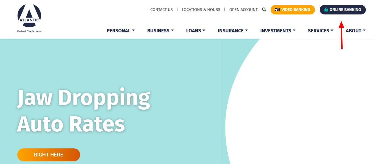 Atlantic FCU Banking Login