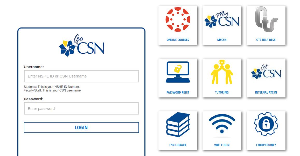 go csn logo