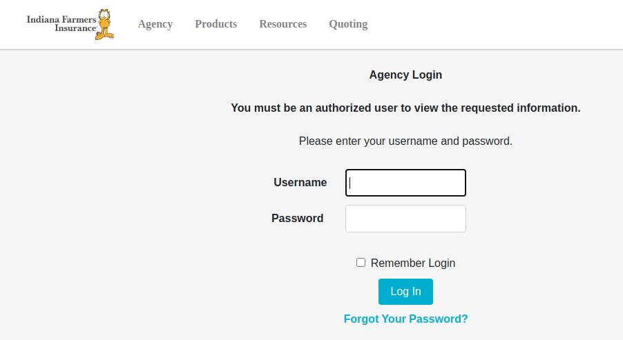 indiana farmers agent login