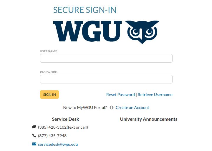 WGU Student Logo