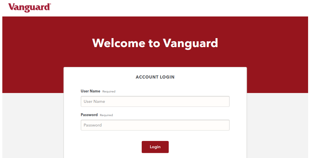 Sponsor Vanguard Plan Login
